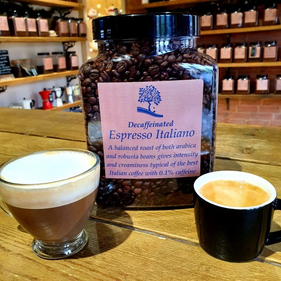 Decaffeinated Espresso Italiano