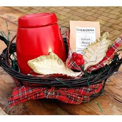 Storage Jar & Coffee Gift Basket