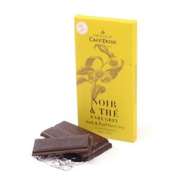 Dark Chocolate with Earl Grey Tea