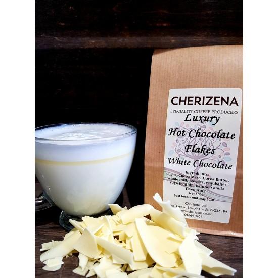 Luxury White Chocolate Flakes