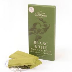 White Chocolate with Matcha Tea