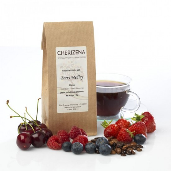 Berry Medley Flavour Coffee
