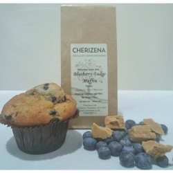 Blueberry Fudge Muffin
