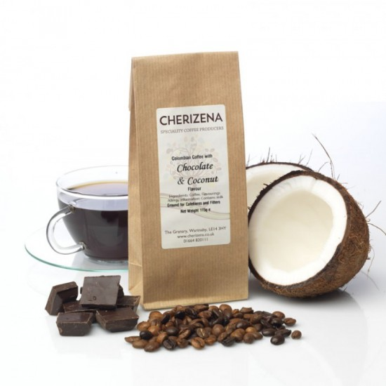 Chocolate & Coconut Flavour Coffee