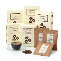 Decaffeinated Nutty Flavours Coffee Selection