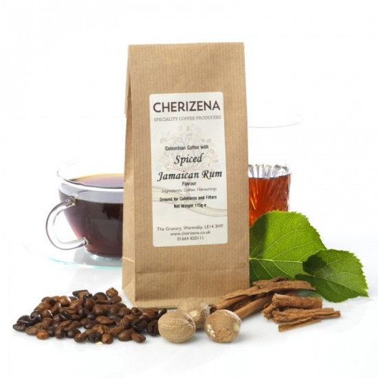 Spiced Jamaican Rum Flavour Coffee